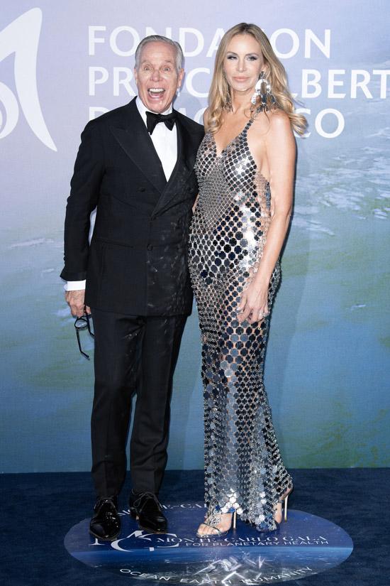 Томми Хилфигер с женой на балу в Монте-Карло