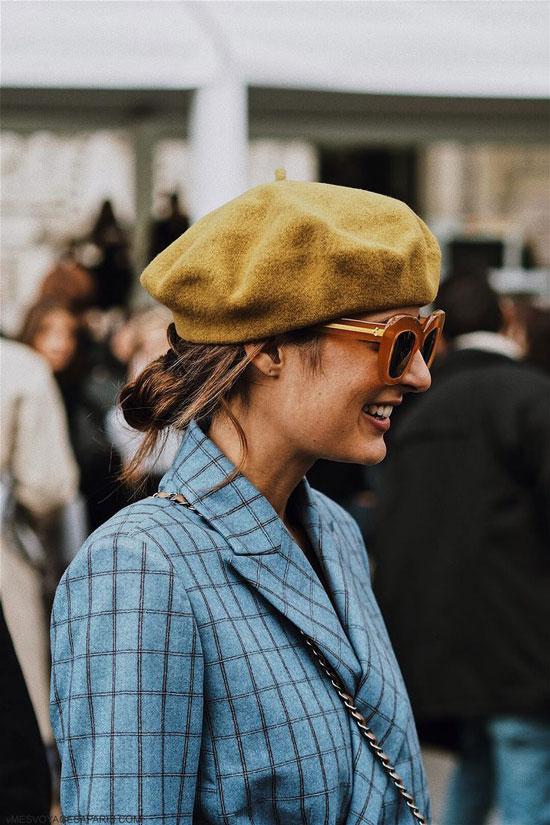 Модные шапки для женщин на осень 2020