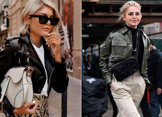 Модные кожаные куртки на осень 2020: как составить образ от дерзкого до романтичного