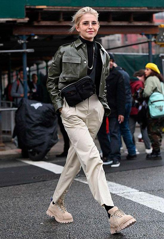 Куртка-косуха для женщин на осень 2020