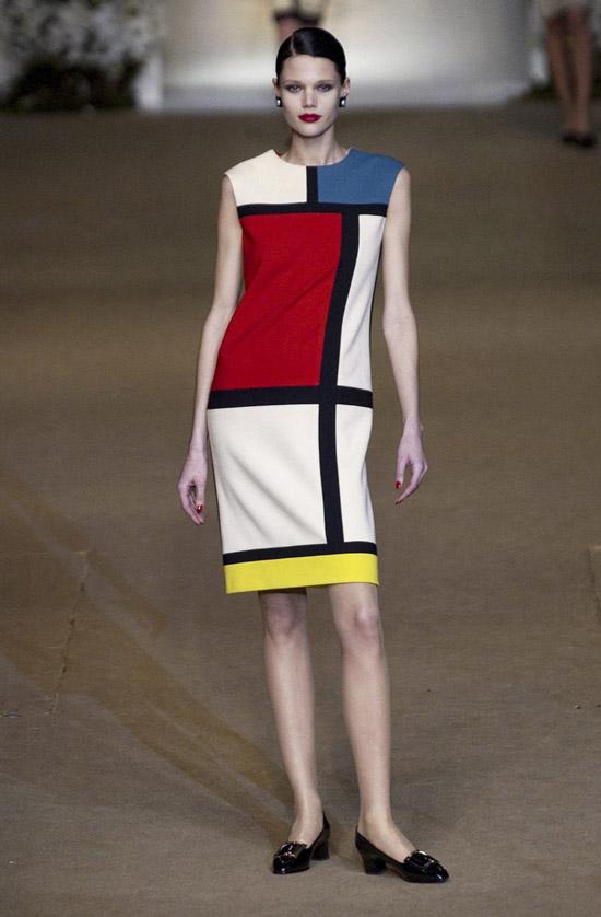 Платье Mondrian от Yves Saint Laurent