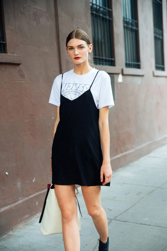Платье-комбинация от Calvin Klein