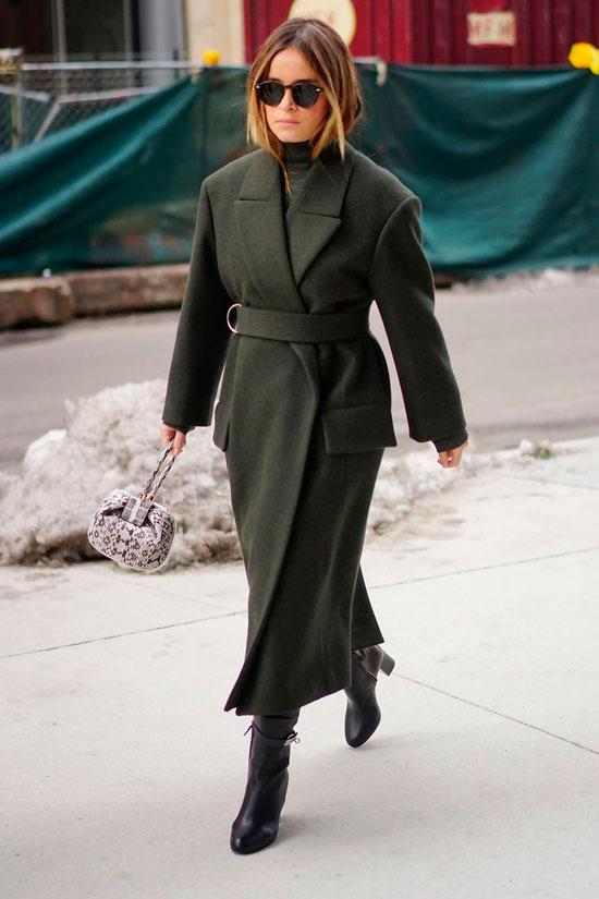 Модные пальто на осень 2020