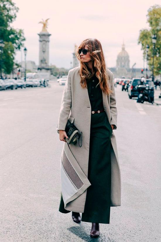 С чем женщинам носить пальто осенью 2020