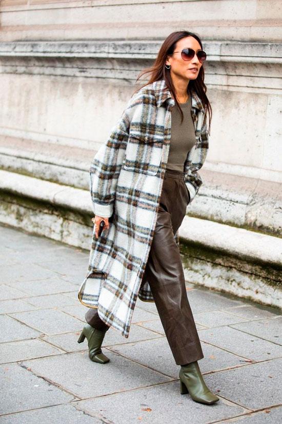 С чем носить оверсайз-пальто осенью 2020