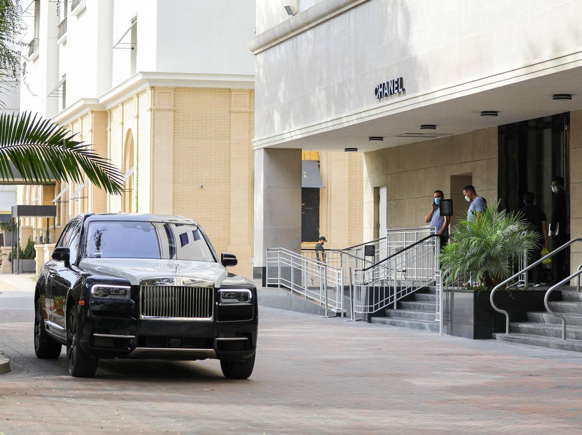Rolls-Royce Марка Уолберга