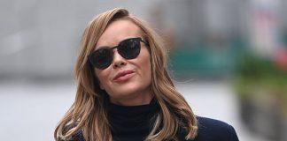 Британская телеведущая в классическом пальто и дешевых брюках Zara выглядит изысканно