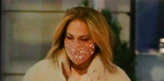 Дженнифер Лопес в плюшевой шубе и уггах: не самый стильный, но очень уютный аутфит