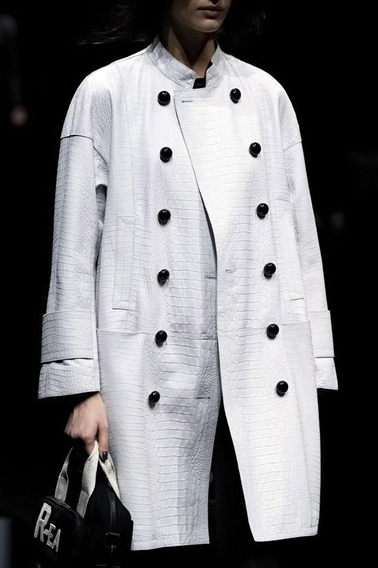 Трендовое пальто от Emporio Armani на зиму 2021