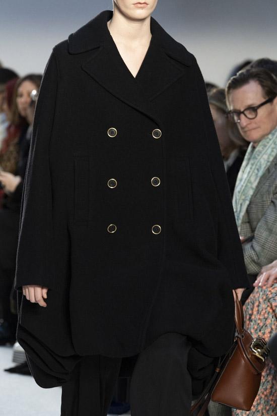 Трендовое пальто от JW Anderson на зиму 2021