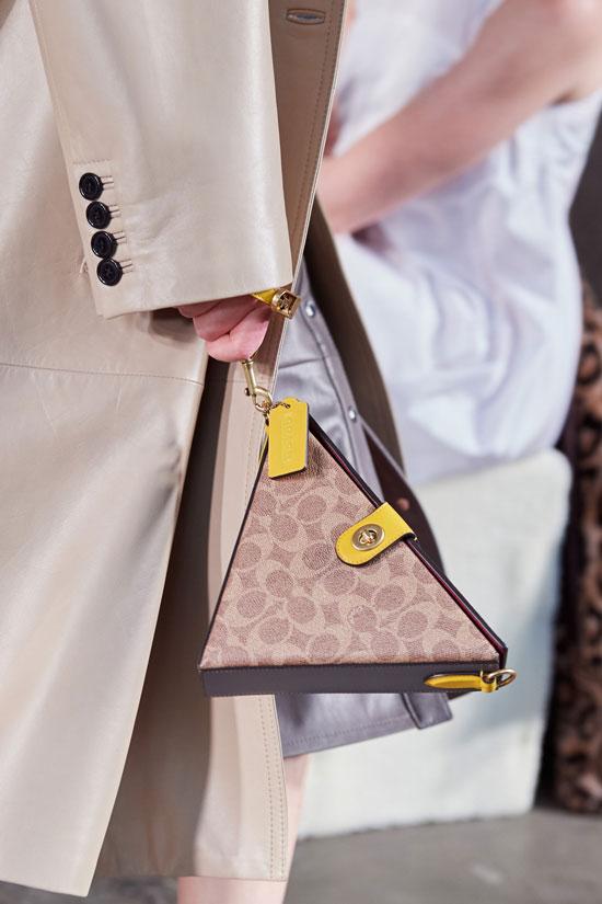 Геометрические сумки на зиму 2021