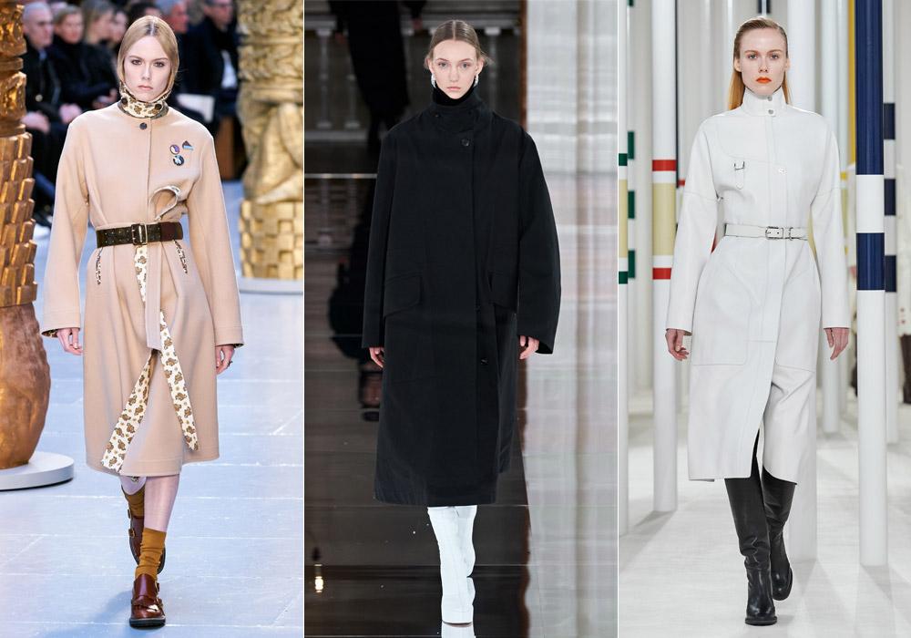Высокий ворот - модные пальто зимы 2021