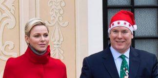 Принцесса Монако Шарлен в красном рождественском кейпе выглядит лучше всех