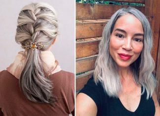 16 причесок, чтобы похвастаться седыми волосами и носить их с гордостью!