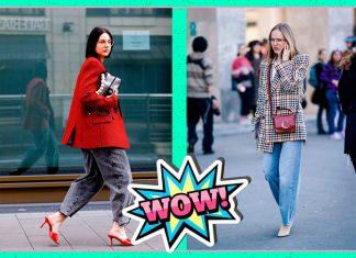 Джинсы слоучи - идеальные брюки, которые нужно купить в начале зимы