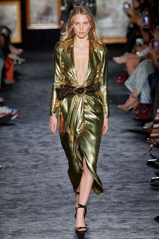 Золотое платье Etro