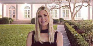 Иванка Трамп опубликовала фото на заднем дворе Белого дома от которого подписчики пришли в восторг