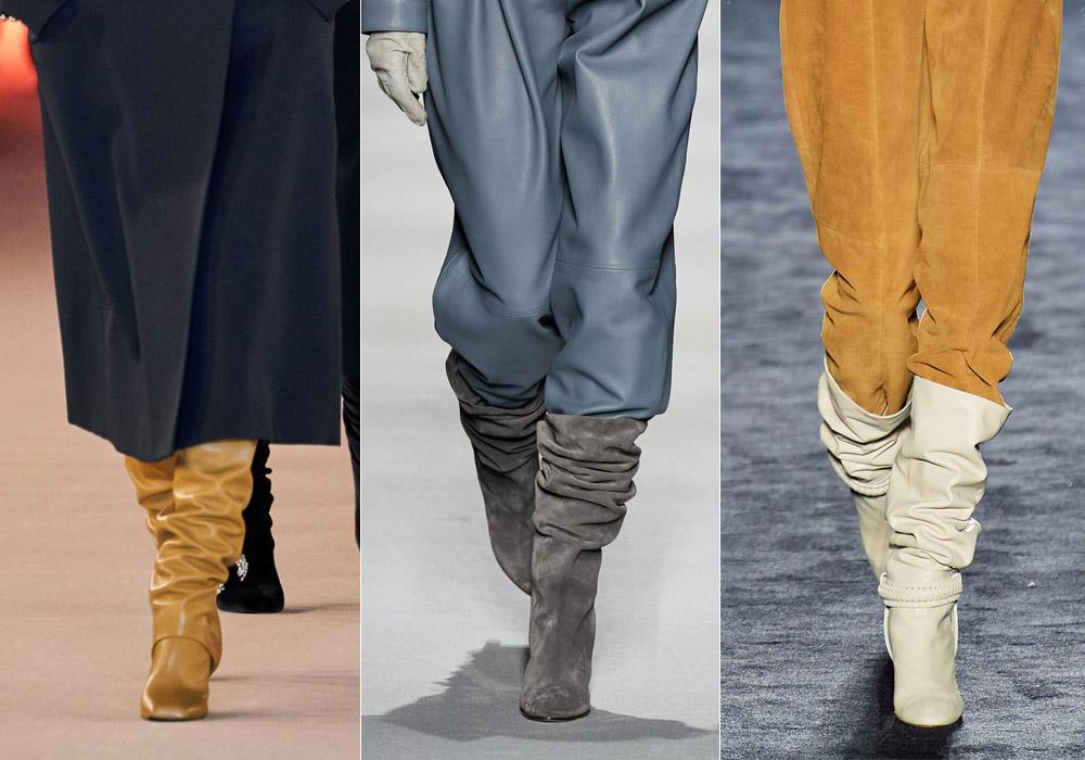 Сапоги гармошка - самые модные зимние сапоги 2021