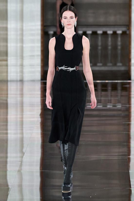 Бархатное платье Victoria Beckham