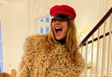 Наталья Водянова в лохматой шубе и красных брюках приводит подписчиков в восторг