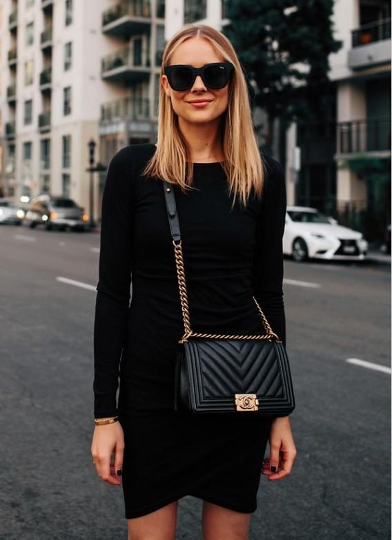 Черная сумка Chanel