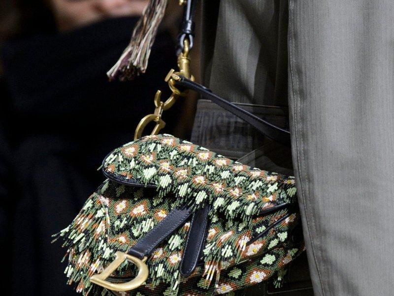 Небольшая сумка седло в стиле хиппи