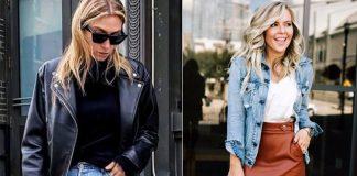 10 идей с кожаной одеждой, чтобы этой весной выглядеть стильно и свежо!