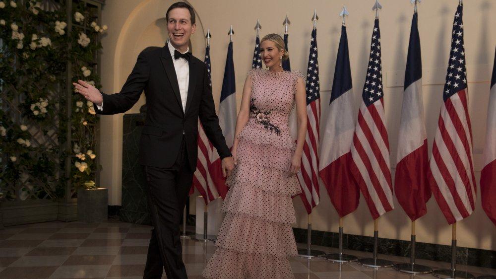 Иванка Трамп в платье с оборками