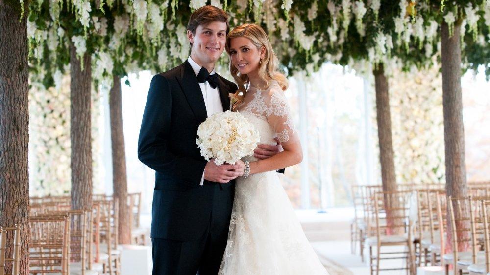 Иванка Трамп в свадебном платье