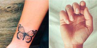 12 милых татуировок на запястье для девушек