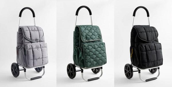 Модели новых сумок на колесиках от Zara