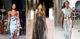 Модные блестящие платья, которые принесут волшебство весной 2021 года