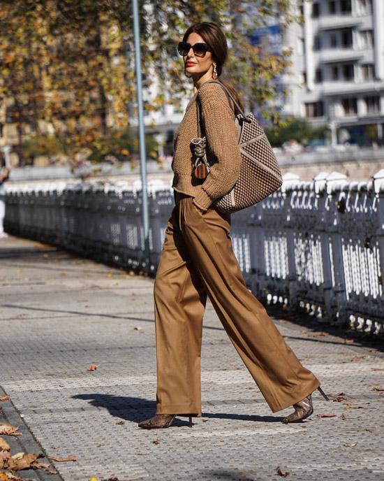 Элегантные брюки и стильные ботильоны