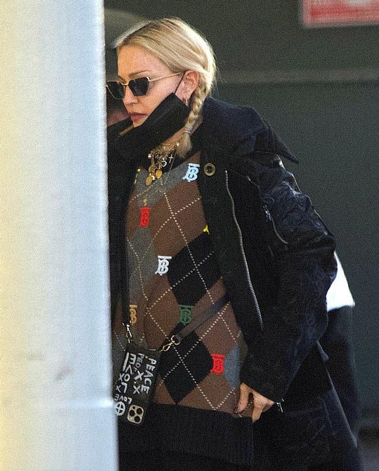 Мадонна с милыми косичками