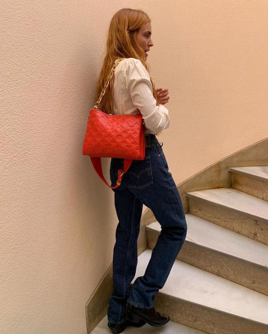 blancamiro показала стрит стайл тренд сезона, модную сумку
