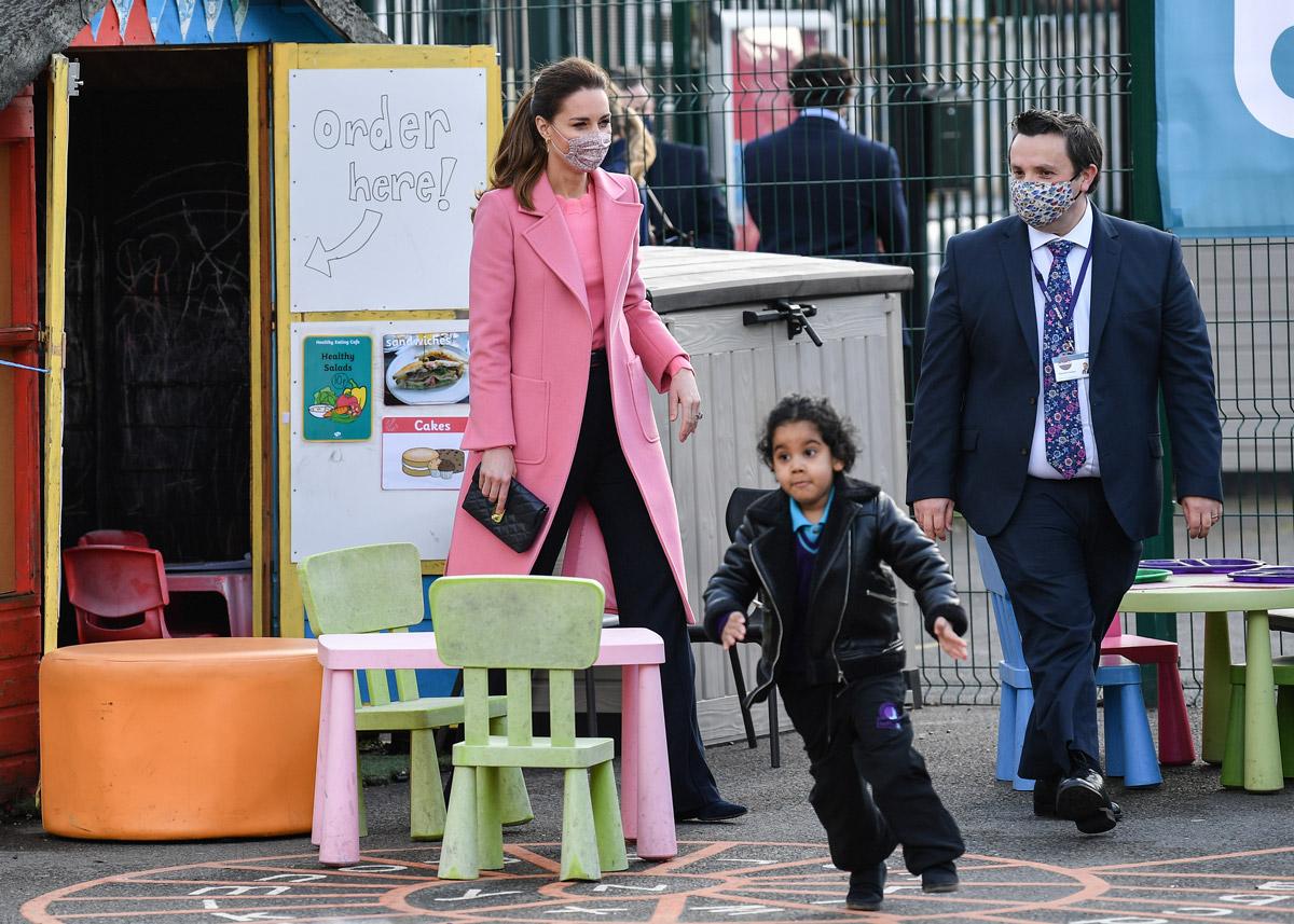 Кейт Миддлтон посетила школу в Лондоне