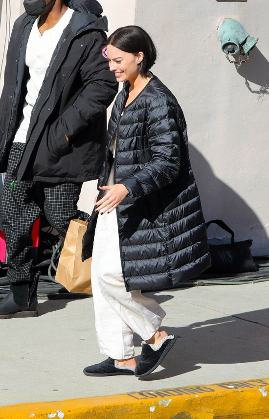 Марго Робби с модной короткой прической