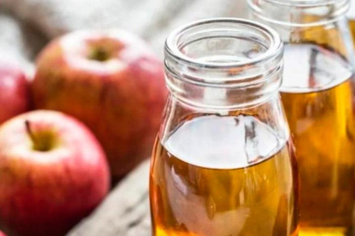 Маска для волос с яблочным уксусом и содой