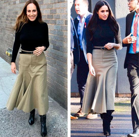 Блогер из Нью-Йорка повторяет образы Кейт Миддлтон и Меган Маркл
