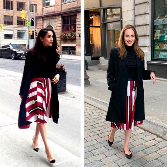 Жительница Нью-Йорка повторяет образы Кейт и Меган