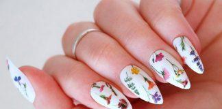 13 цветочных маникюров, которые могут украшать ваши ноготки весь апрель 2021
