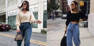 16 нарядов с широкими джинсами, которые в этом сезоне вам захочется повторить