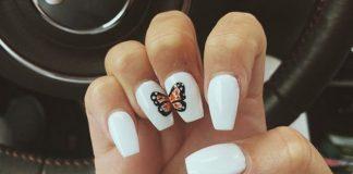 16 маникюров с бабочками, которые не только украсят ваши ногти, но и подарят радость
