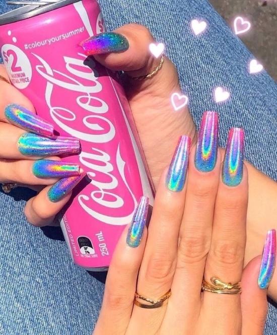 Ногти в стиле Барби!