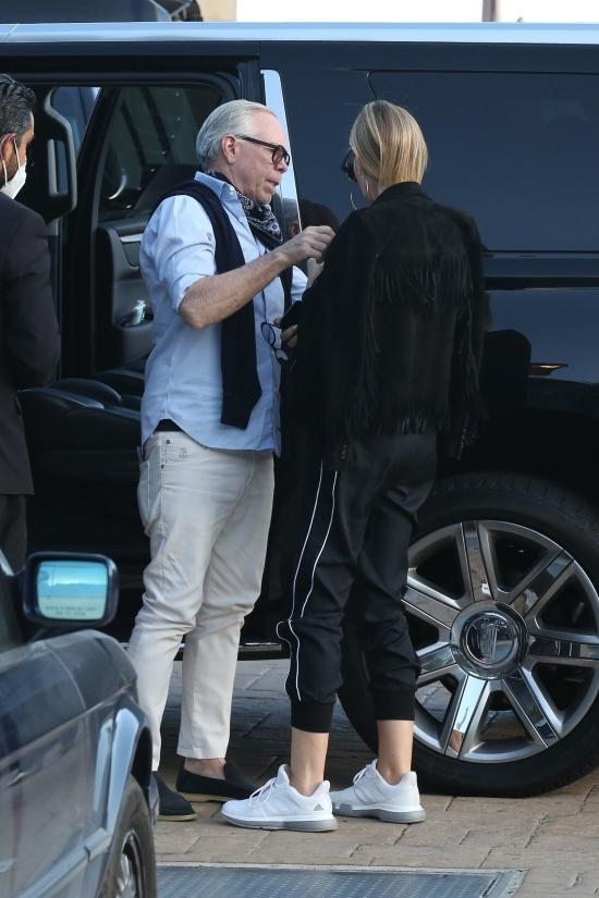 Томми Хилфигер со своей женой
