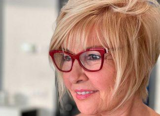 14 коротких причесок для пожилых женщин с тонкими волосами на лето 2021