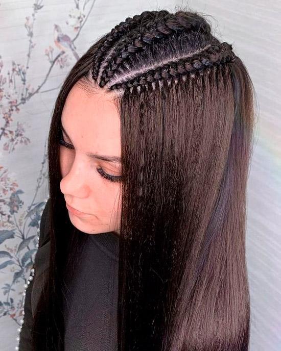Заплетите косу в собственном стиле