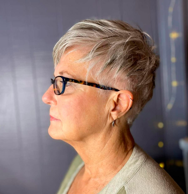 Стрижка пикси для коротких волос