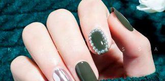 13 маникюров в стиле рококо, стильные идеи как украсить ногти кристаллами Сваровски