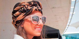 14 стильных идей для укладки волос с платком, которые вам понравятся